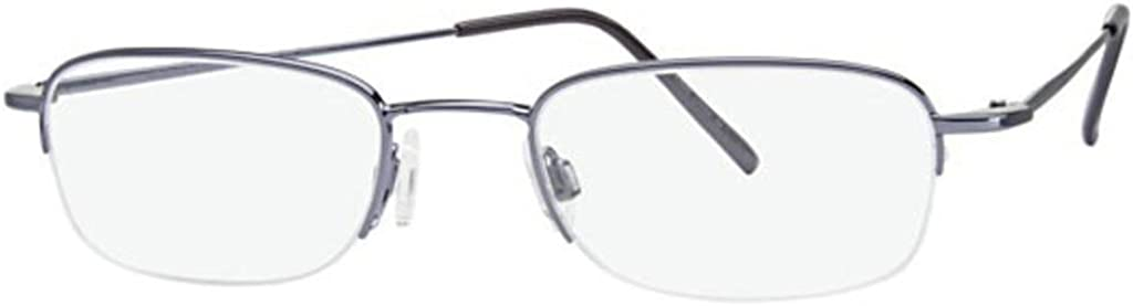 Flexon Flx 807Mag-Set Eyeglasses 401 Steel Blue Demo 49 20 140