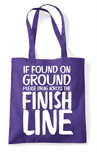 Line Please The Tote Shopper Found Ground Drag On Purple Across If Finish Bag wn6TqaCR