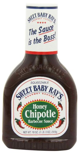 Sweet Honey Chipotle Barbecue Sauce 18FZ (Pack of 12) -