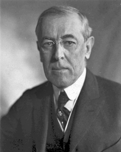 (New 8x10 Photo: Woodrow Wilson, 28th President of the U.S.)