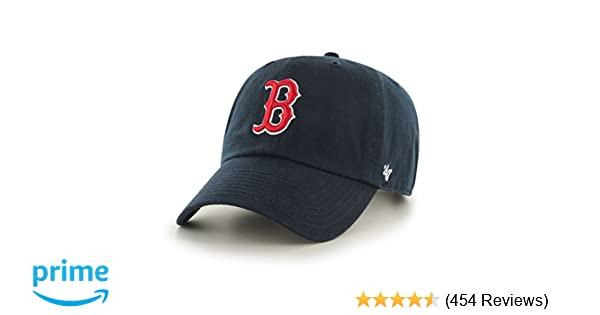 ... sweden amazon mlb boston red sox mens 47 brand home clean up cap navy  one size a529aa8d904d