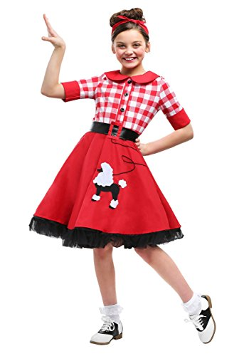 50s Darling Girls Costume Medium