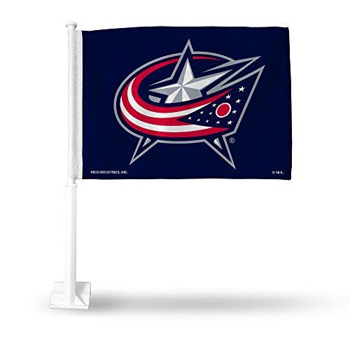 (Rico Industries NHL Columbus Blue Jackets Car Flag)