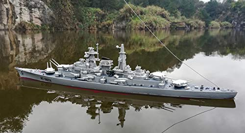 - SOWOFA 1:360 Super Large Remote Control Warship Remote Control Boat Children's Electric Toy Ship Warship boy Super Large Speedboat Charging Aircraft Carrier Military Model Battle