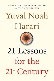 Book Cover: 21 Lessons for the 21st Century