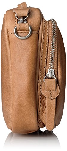 Amsterdam Cowboys Bag Verwood, Borsa a Tracolla Donna Marrone (Braun (Camel 370))