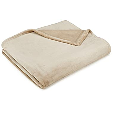 Pinzon Velvet Plush Throw - Sand