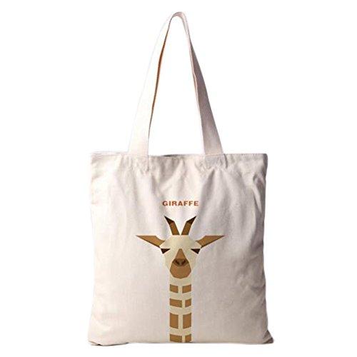 Cute Giraffe Einzel Schultertasche ?ko-Tasche Tasche, No.5