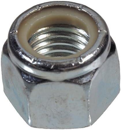 Hillman Nylon Insert Lock Nuts 5//16  Zinc Coarse Steel 100 Box
