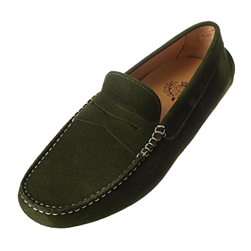 Thistle Products Thistle, Mocassins pour Homme Vierge Green