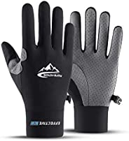 Tofern Unisex Gloves Touch Screen UV Protection Sports Driving Compression Gloves Anti-Slip Best Grip Running