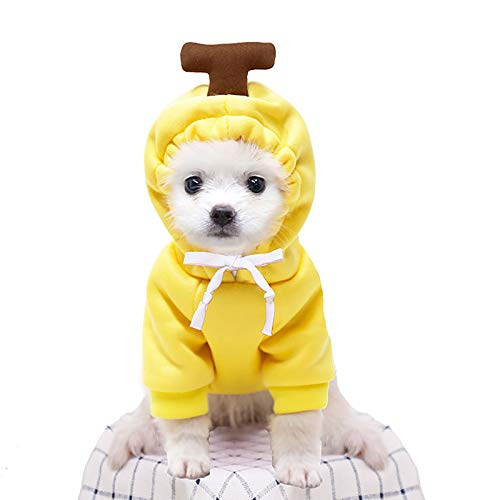 Futomcop Pet Costume, Cute Shape Puppy Cat Hoodie, Puppy Jumpsuit, Pet Cat Pajamas