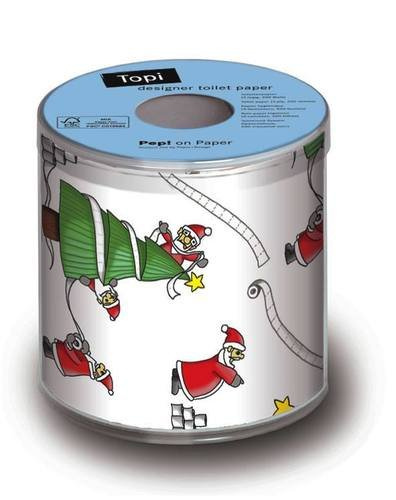 Santa's So Busy Christmas Toilet Paper | Topi