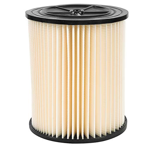"""Wet Vacuum Filter Replacement Fits Shop-Vac 90328, and Brand of 5 Up 6.5"""" Tall and Diameter – by Glone"""
