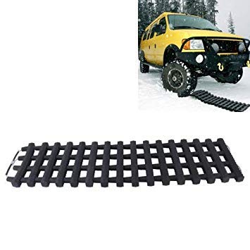 Uniqus High Density Silicone Car Emergency Rescue Caterpillar Chain Track for Mud Sand Snow Trap
