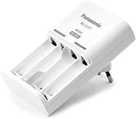 Panasonic BQ-CC51E Cargador básico: Amazon.es: Electrónica