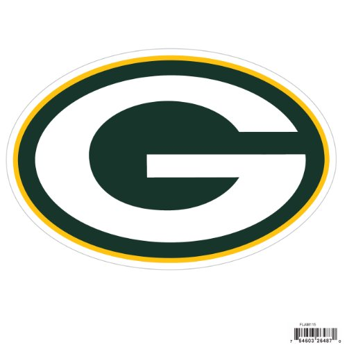 Siskiyou NFL Green Bay Packers Automotive Magnet, 8-Inch