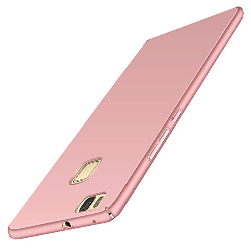 JEPER Coque Huawei P9 Lite, Dur PC Fini Mat Protection Intgrale Ultra Mince Anti-Rayures Anti-Choc Case Housse pour Telephone Huawei P9 Lite Rose
