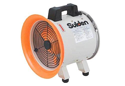 スイデン(suiden) 送風機 軸流ファンブロワ ハネ300mm 単相100V SJF-300RS-1