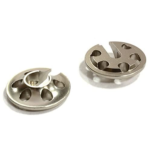 Integy RC Model Hop-ups C25913GUN Billet Machined 14mm Type Lower Spring Retainer for C25910 Competition Shock
