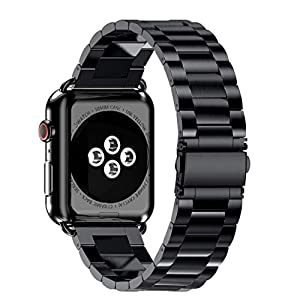 Compatible Apple Watch Series 4 40mm/44mm,KFSO Stainless Steel Watch Band Replacement Strap