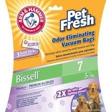 Premium Filtration Odor Eliminating Vacuum Bags, Bissell 7 Pet Fresh, 3 Pack - Arm & - Allen In Tx Shops