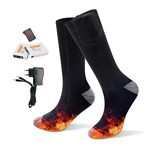 Opgewaardeerde Verwarmde Sokken-Met Afstandsbediening-Voor Mannen Vrouwen Winter Ski Jagen Camping Wandelen Motorfiets…