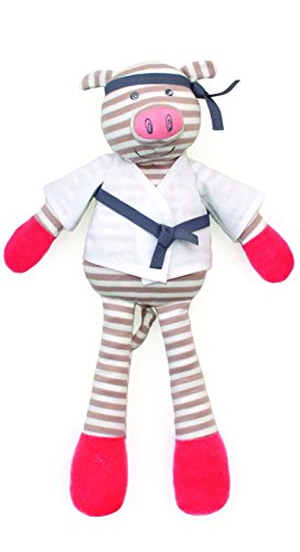 - Organic Farm Buddies, Pork Chop Plush Toy