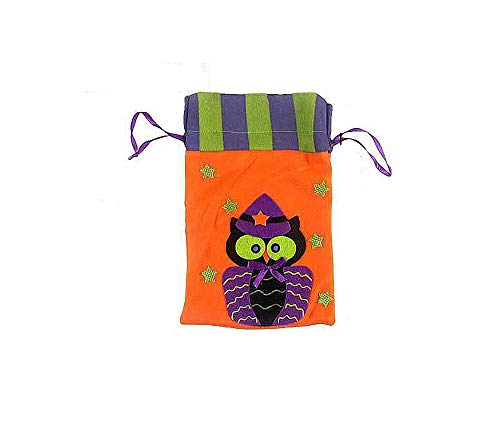 Halloween Tote Bag Decorative Articles Put Cookie or Apple in Gift Bag]()