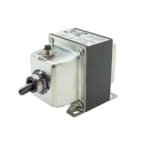 Functional Devices TR75VA001 Transformer, 75 VA, 120 to 24 Vac, Circuit Breaker, Foot and Single Threaded Hub Mount