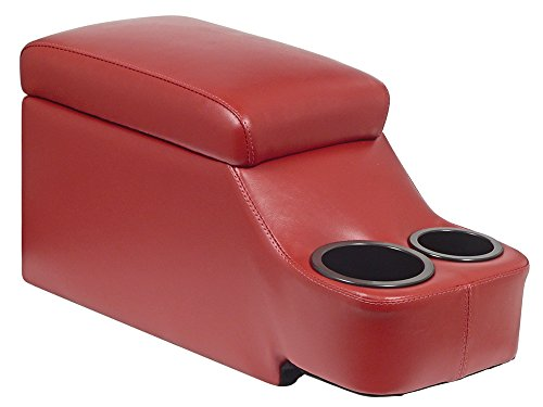 (New Red Removable Console For Fairlane Galaxie Maverick Mustang Coupe (HH6473CP-03))