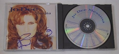 Jo Dee Messina Self-Titled Signed Autographed Country Music Cd Compact Disc Loa