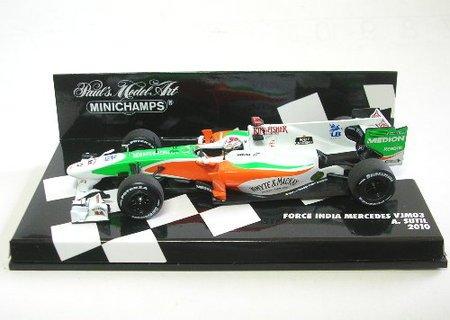FORCE INDIA F1 MERCEDES VJM03 ADRIAN SUTIL 2010 (japan import) ()