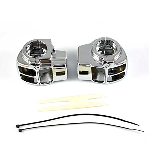Yitong Motorcycle Chrome Switch Housing Cover For Harley-Davidson Road Glide Custom FLTRX Electra Classic FLHTC - Motor Housing Cover