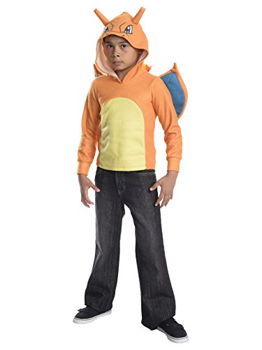 (Rubie's Costume Pokemon Charizard Child Novelty Hoodie Costume,)