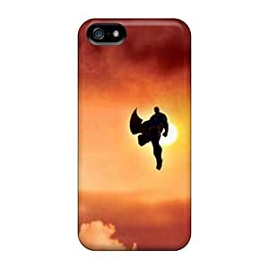 High Impact Dirt/shock Proof Case Cover For Iphone 5/5s (superman)