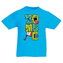Funny t shirts for kids Zombie gear zombie gifts clothing
