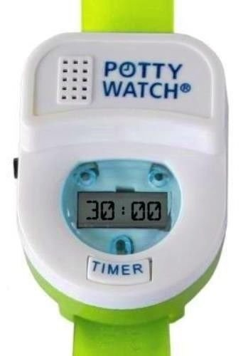 New Toddler Potty Time Watch Toilet Training Aid (Green)