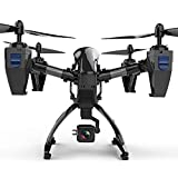 US Fast Shipment Tuscom 2 Million HD Pixels Six-Axis Gyroscope Quadcopter, 75° Angle Camera Flexible Flight Aircraft Aerial Photography Aircraft (Black)