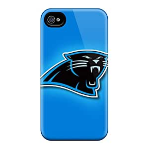 Excellent Hard Phone Case For Iphone 6 With Support Your Personal Customized Vivid Carolina Panthers Series JamieBratt