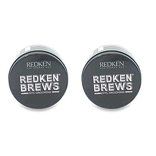 Redken Brew Maneuver Cream Pomade 3.4 oz (Pack of 2)