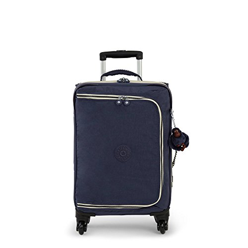 Kipling Women's Cyrah Small Carry-On Rolling Luggage One Size True Navy Mix - Navy Small Rolling Luggage