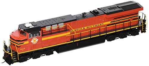 (Bachmann GE ES44AC DCC Sound Value Equipped Diesel Locomotive - Norfolk Southern Railway #8114 (with Operating Ditch Lights)  - HO Scale)