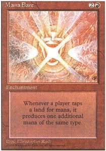Magic: the Gathering - Mana Flare - Alternate 4th Edition