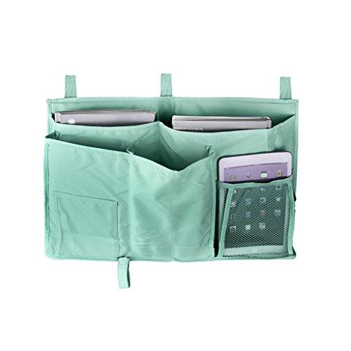 Bedside Caddy, Multipurpose Bed Tidy Stroller Hanging Poc...