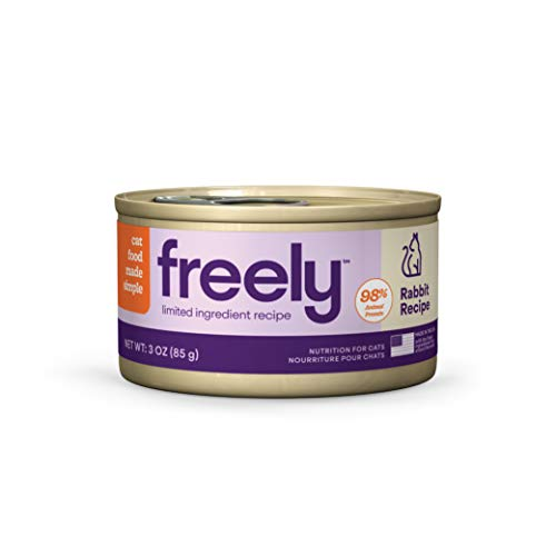 Freely Limited Ingredient Diet, Wet Cat Food, Natural Grain Free Cat Food Canned