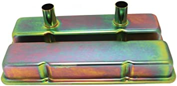 Zinc 1958-86 Chevy Small Block Circle Track Racing Steel Valve Covers