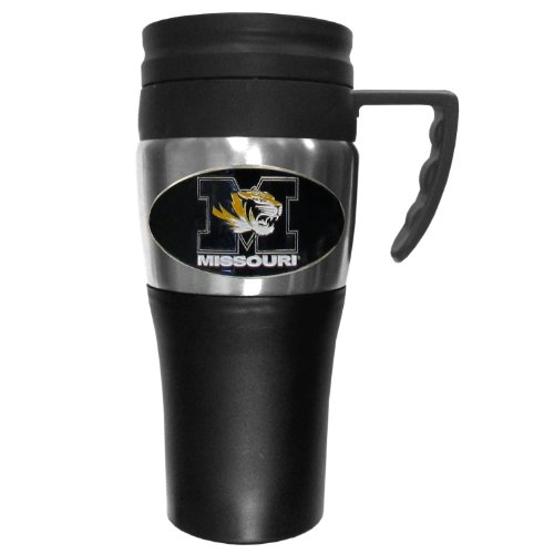 NCAA Missouri Tigers 2 Toned Travel Mug