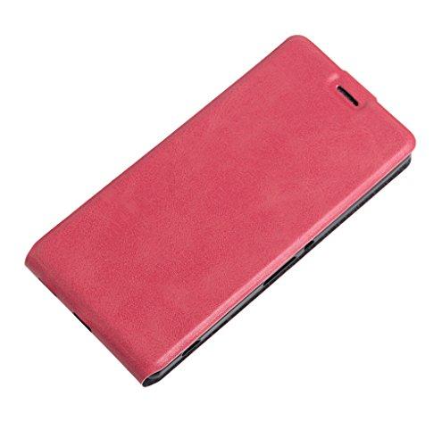 Funda SONY XA Ultra,Manyip Caja del teléfono del cuero,Protector de Pantalla de Slim Case Estilo Billetera con Ranuras para Tarjetas, Soporte Plegable, Cierre Magnético E