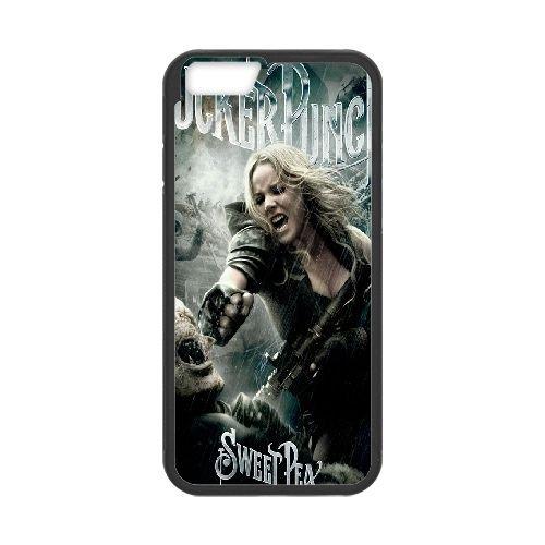 Baby Doll Sucker Punchblack coque iPhone 6 Plus 5.5 Inch Housse téléphone Noir de couverture de cas coque EBDOBCKCO11174